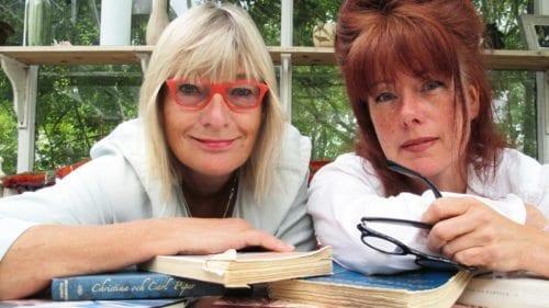 Mia Gröndahl och Amber Grimfalk med Christinas Wänner