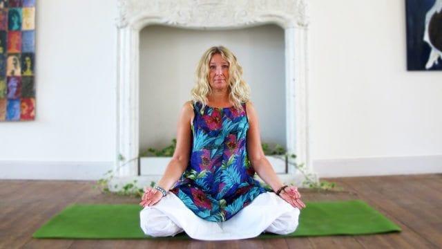 yoga på slottet