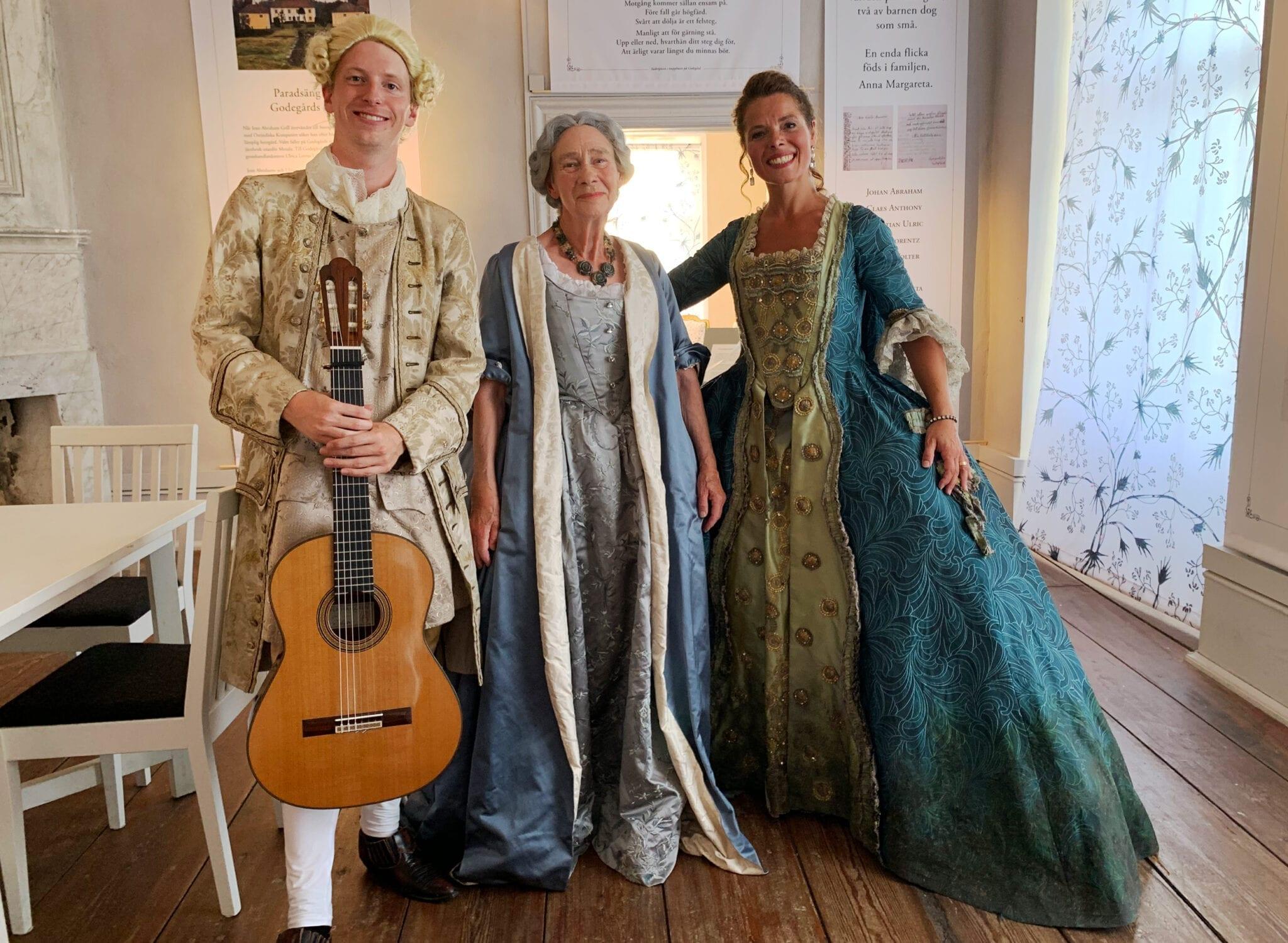 Musik i en barockt bra kvinnas liv