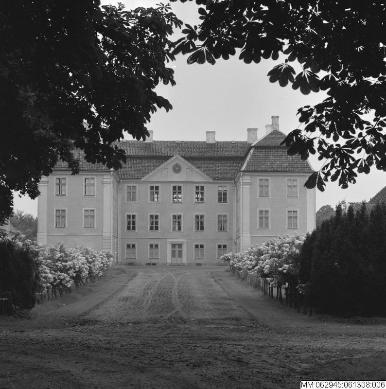 Christinehof 1961. Foto Stig T Karlsson:Malmö Muséer
