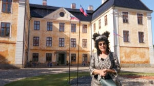 Foreign Visitors - Christinehof Castle