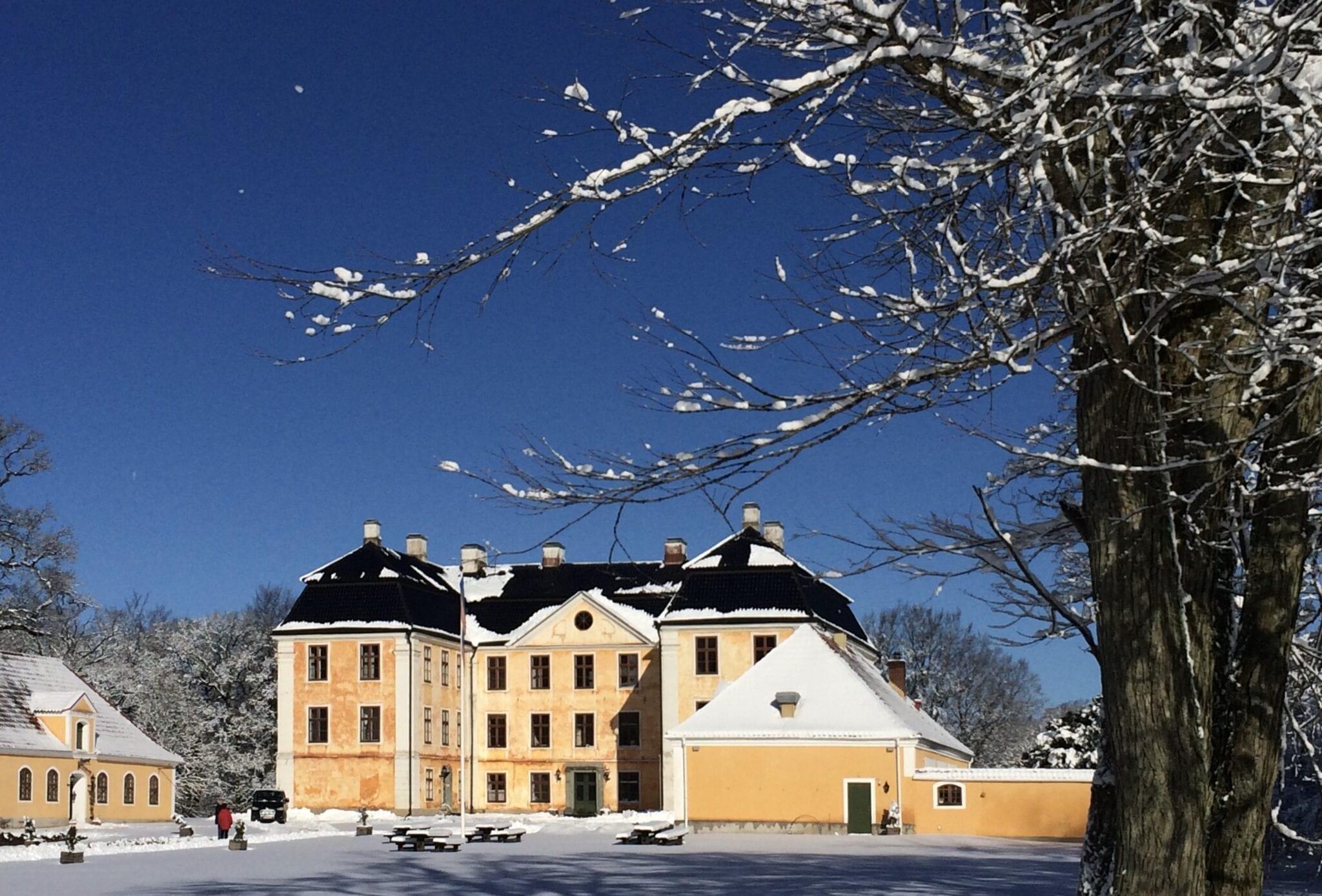 Christinehof i vinterskrud