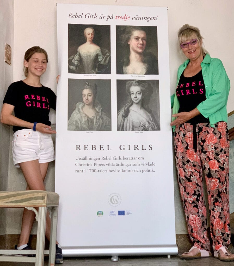 Rebel Girls hänvisning till tredje våningen