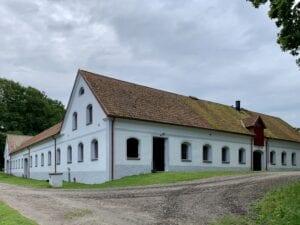 Stallbyggnaden Christinehofs gård