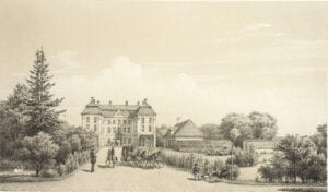 Upplev Christinehofs historiska trädgård