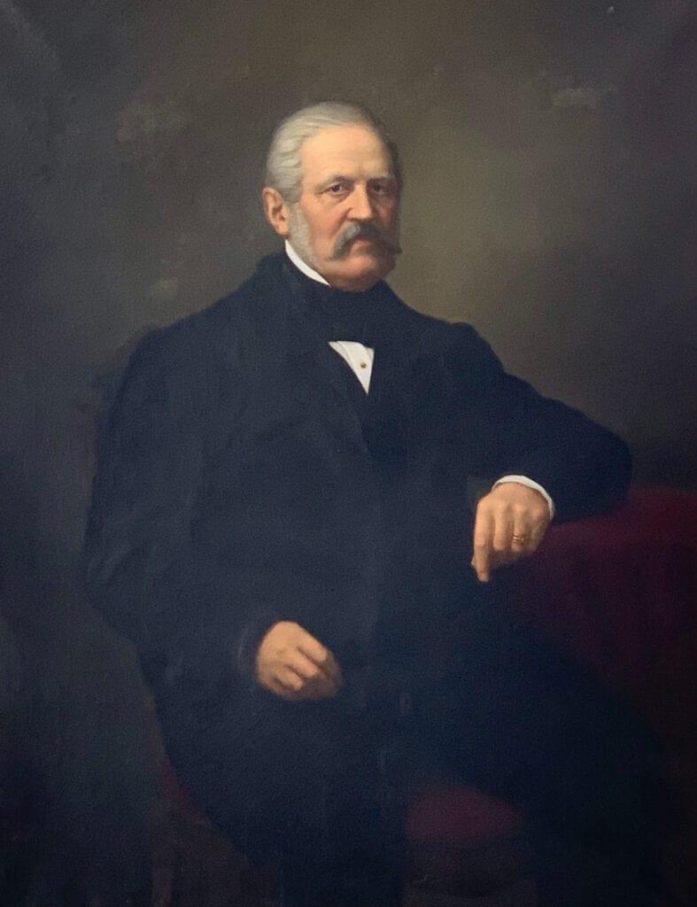 Carl Erik Piper, 1806-1875.