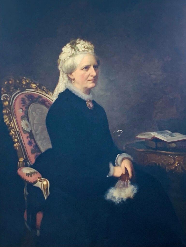 Elisabeth Augusta Piper, född Baker, 1811-1879.